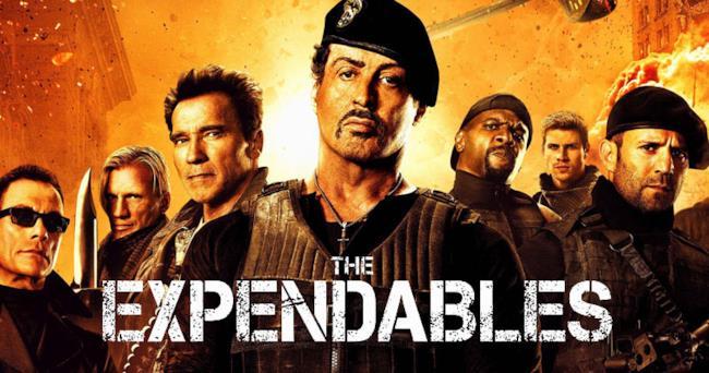 Il cast di The Expendables