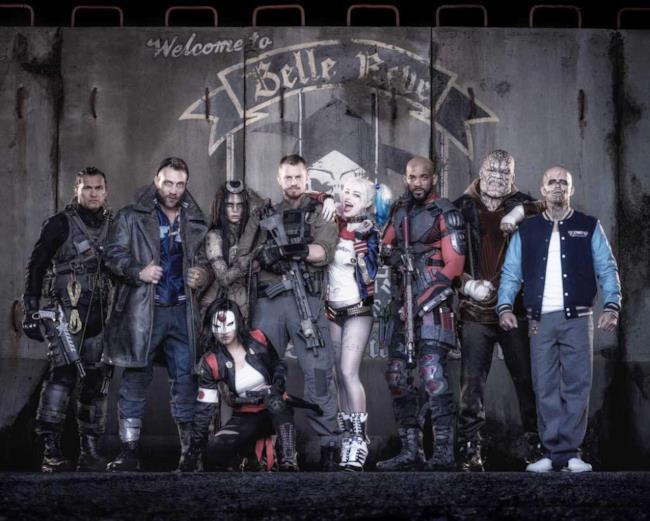 Il cast del film Suicide Squad nella prima foto ufficiale