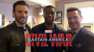 Gli attori interpreti di Civil War