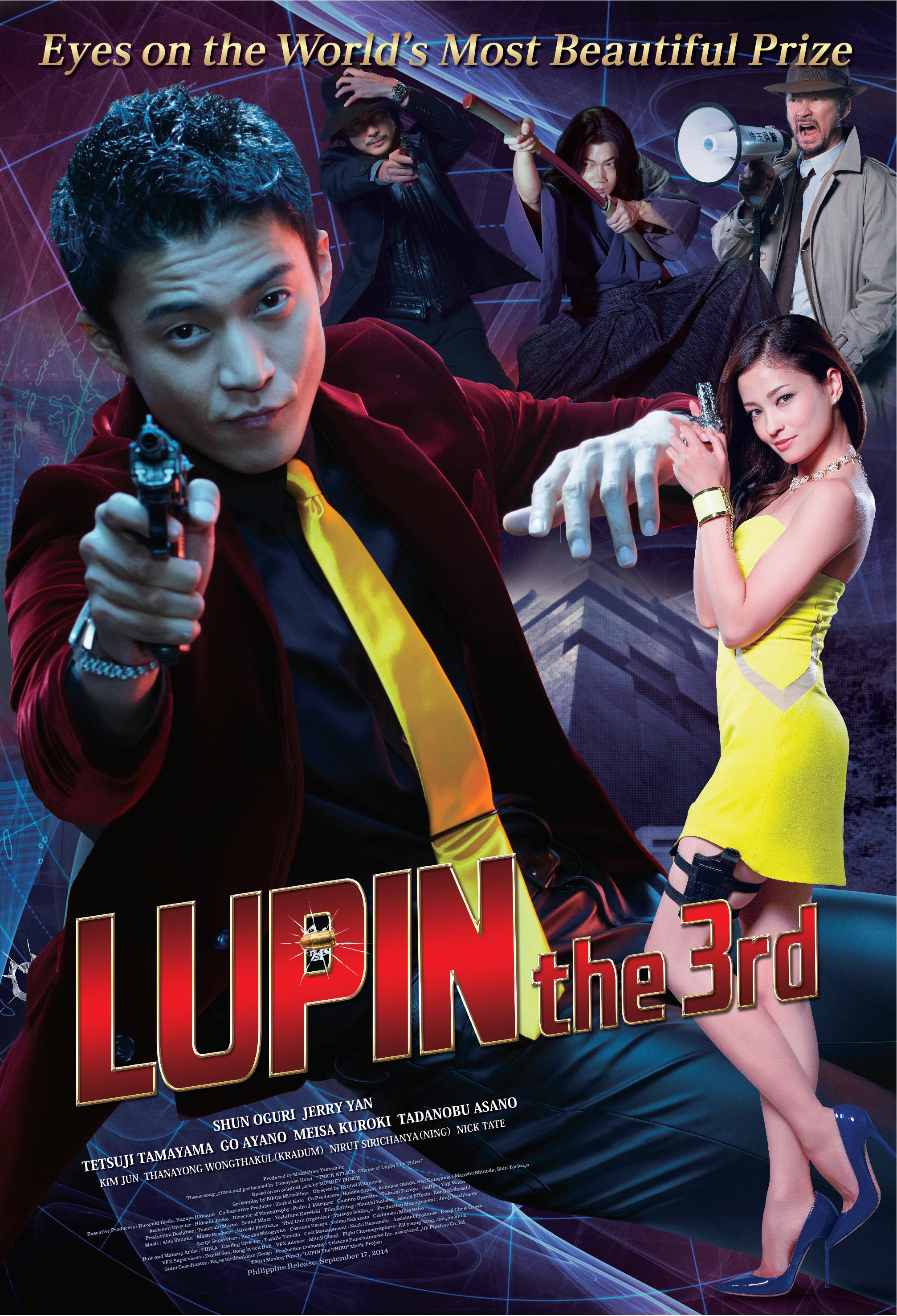 Lupin III nell'adattamento live-action
