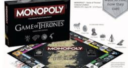 Monopoly di Game of Thrones