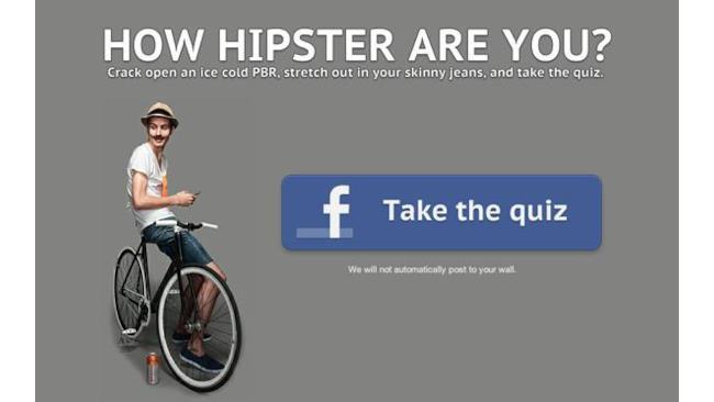 Hipster-test-facebook