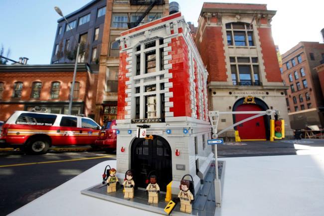 La Casermas LEGO dei Ghostbusters