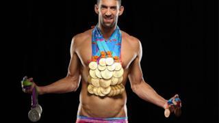 Il nuotatore Michael Phelps