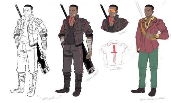 Il cacciatore di vampiri Blade nella nuova serie a fumetti Marvel
