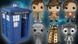 Il set POP! Vinyl di Doctor Who
