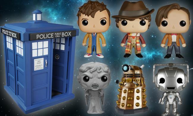 Il set POP! Vinyl di Doctor Who