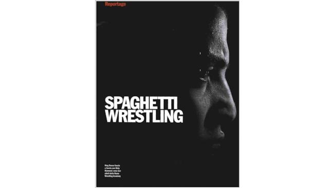 Spaghetti wrestling