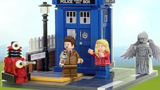 Le immagini del progetto presentato da Andrew Clark per il set di Doctor Who