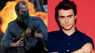 L'attore Daniel Radcliffe