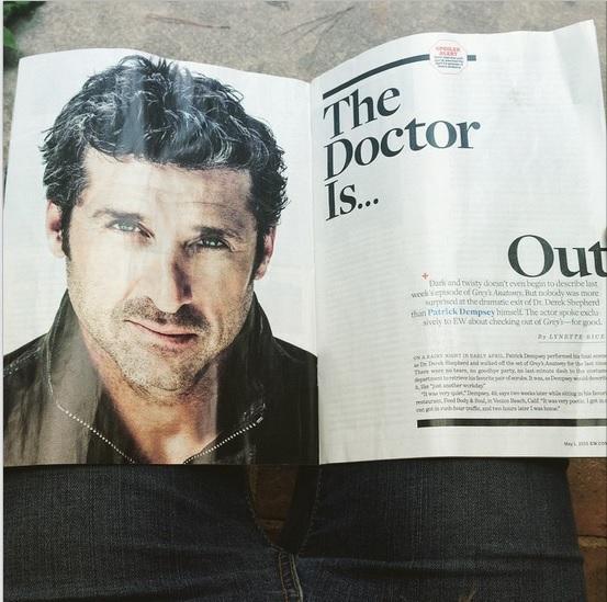 Entertainment Weekly ha spoilerato ai suoi lettori la morte di Derek Shepherd