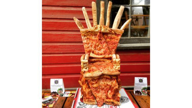 Il trono della pizza di Game of Thrones