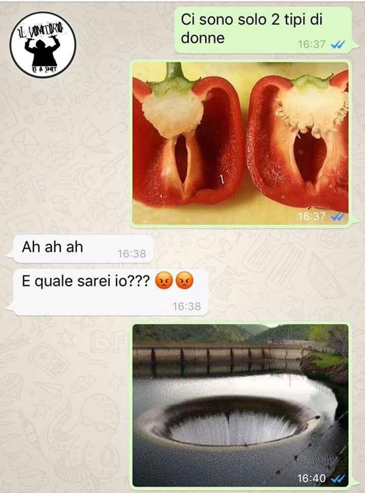 Immagini divertenti per WhatsApp - Una conversazione su WhatsApp