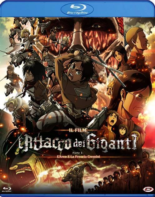 Il Bly Ray del primo film dell'Attacco dei Giganti arriva a luglio