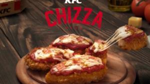La nuova Chizza di KFC
