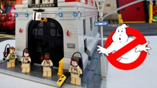 Il set LEGO dei Ghostbusters