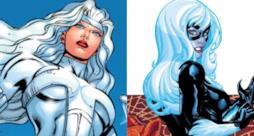 Silver Sable e Gatta Nera tratte dai fumetti Marvel