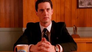 Kyle MacLachlan nel ruolo dell'agente Cooper
