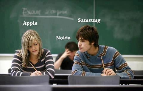 Meme su Apple, Nokia e Samsung