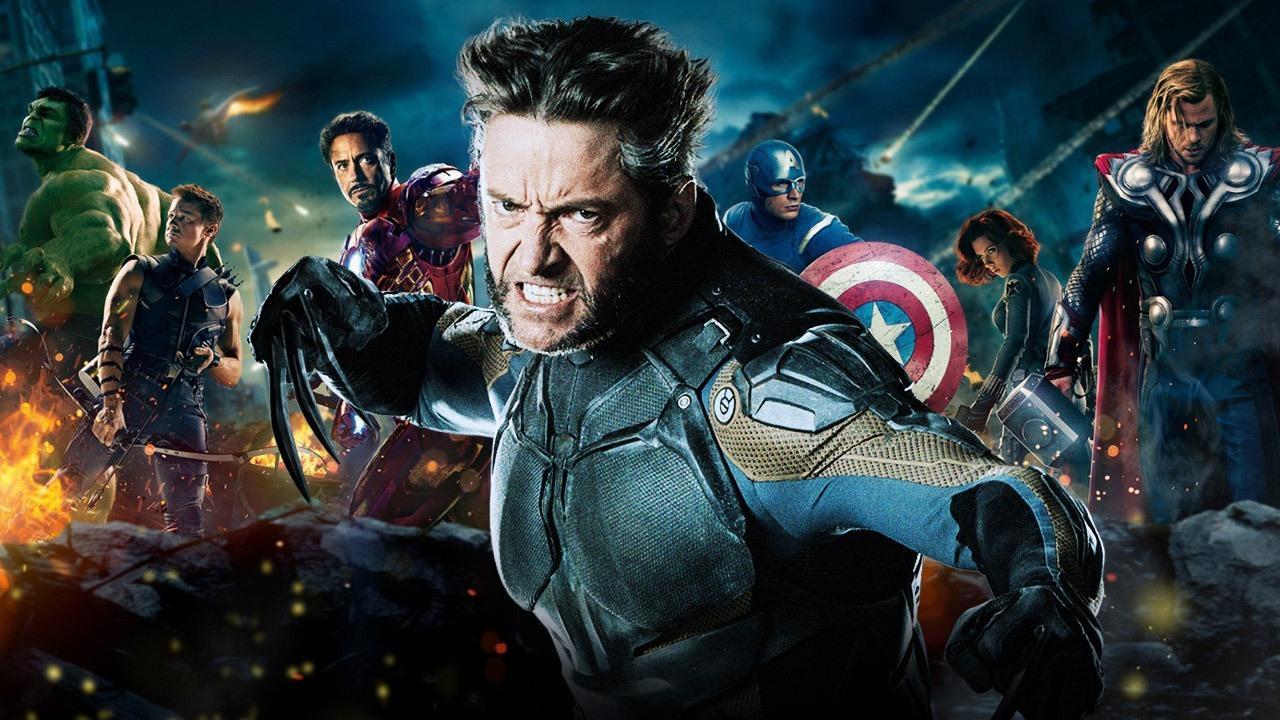 Wolverine combatte con gli Avengers nella fotomanipolazione di un fan