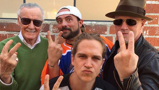 Mallrats 2 e il suo cast, Stan Lee, Jason Lee, Michael Rooker