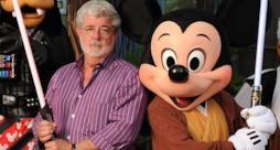George Lucas e Disney Star Wars