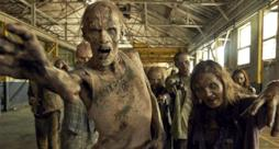 Zombie in The Walking Dead