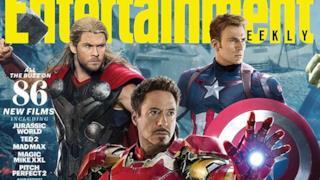 Gli Avengers di Age of Ultron uniti sulle copertine di Entertainment Weekly!
