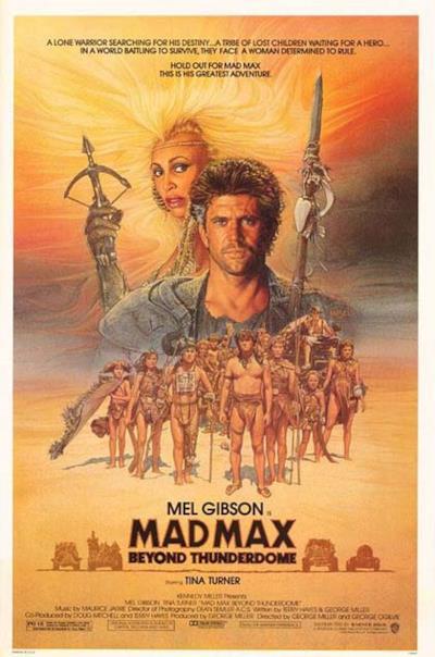 La locandina di Mad Max - Oltre la sfera del tuono