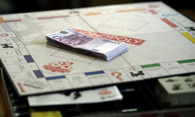 Il Monopoly con le banconote da 500 euro