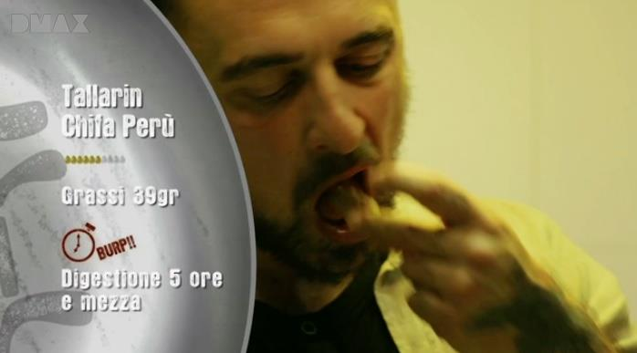 Chef Rubio mangia