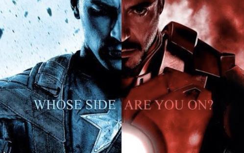 Da che parte starai in Civil War?