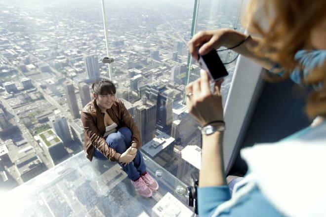 Foto sullo Skydeck di Chicago