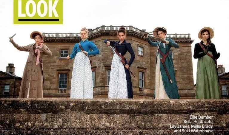 Le sorelle Bennet in Orgoglio e Pregiudizio e Zombie