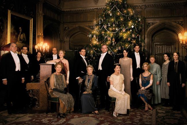 Il cast della stagione 5 di Downton Abbey