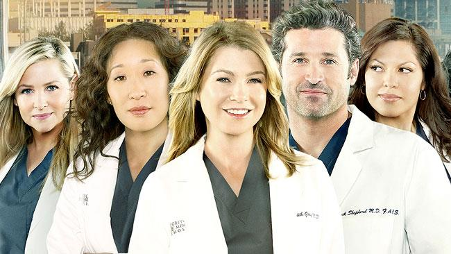 Il cast di Grey's Anatomy