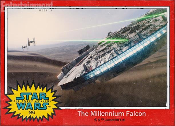 Il Millennium Falcon di Star Wars 7