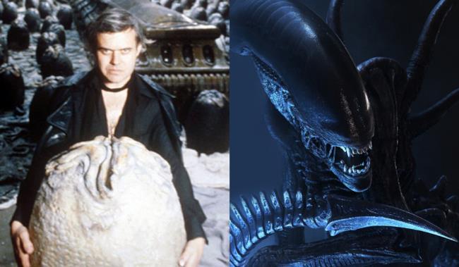 H.R. Giger e Alien