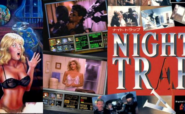 Ragazze e ragazzi fuggono dai vampiri in un'immagine di Night Trap