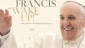 Papa Francesco sulla cover dell'album Wake Up!