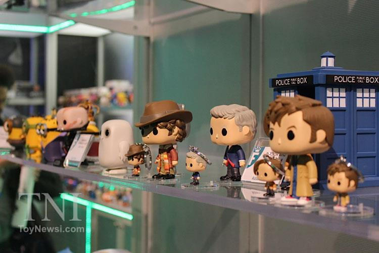 I POP Vinyls di Doctor Who alla Toy Fair di New York
