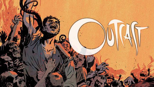 Il protagonista del fumetto Outcast, Kyle Barnes