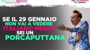 Poster del film Italiano Medio di Maccio Capatonda