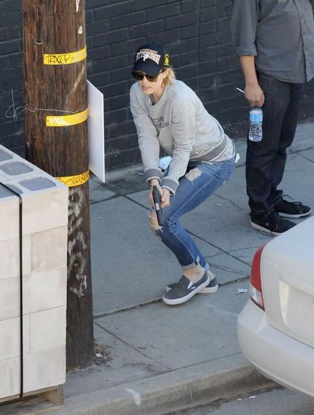 Rachel McAdams sul set di True Detective 2