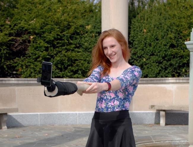 Selfie Arm in funzione