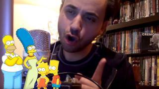 Il nuovo fenomeno di YouTube imita tutti i personaggi dei Simpson