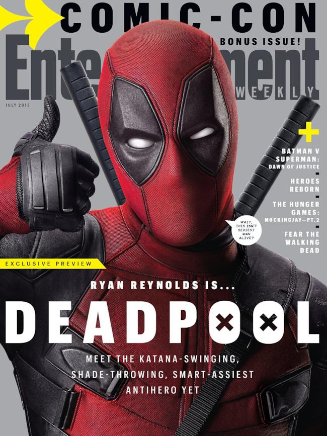 Deadpool conquista la copertina di Entertainment Weekly