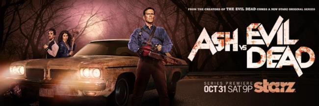 Ash vs Evil Dead debutta su Starz il 31 ottobre, giusto in tempo per Halloween