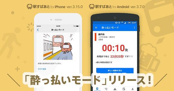 Screen dell'app drunk mode