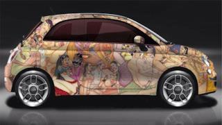 La nuova versione custom della Fiat 500 proposta dal Garage italia